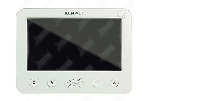 Подключение видеодомофона Kenwei